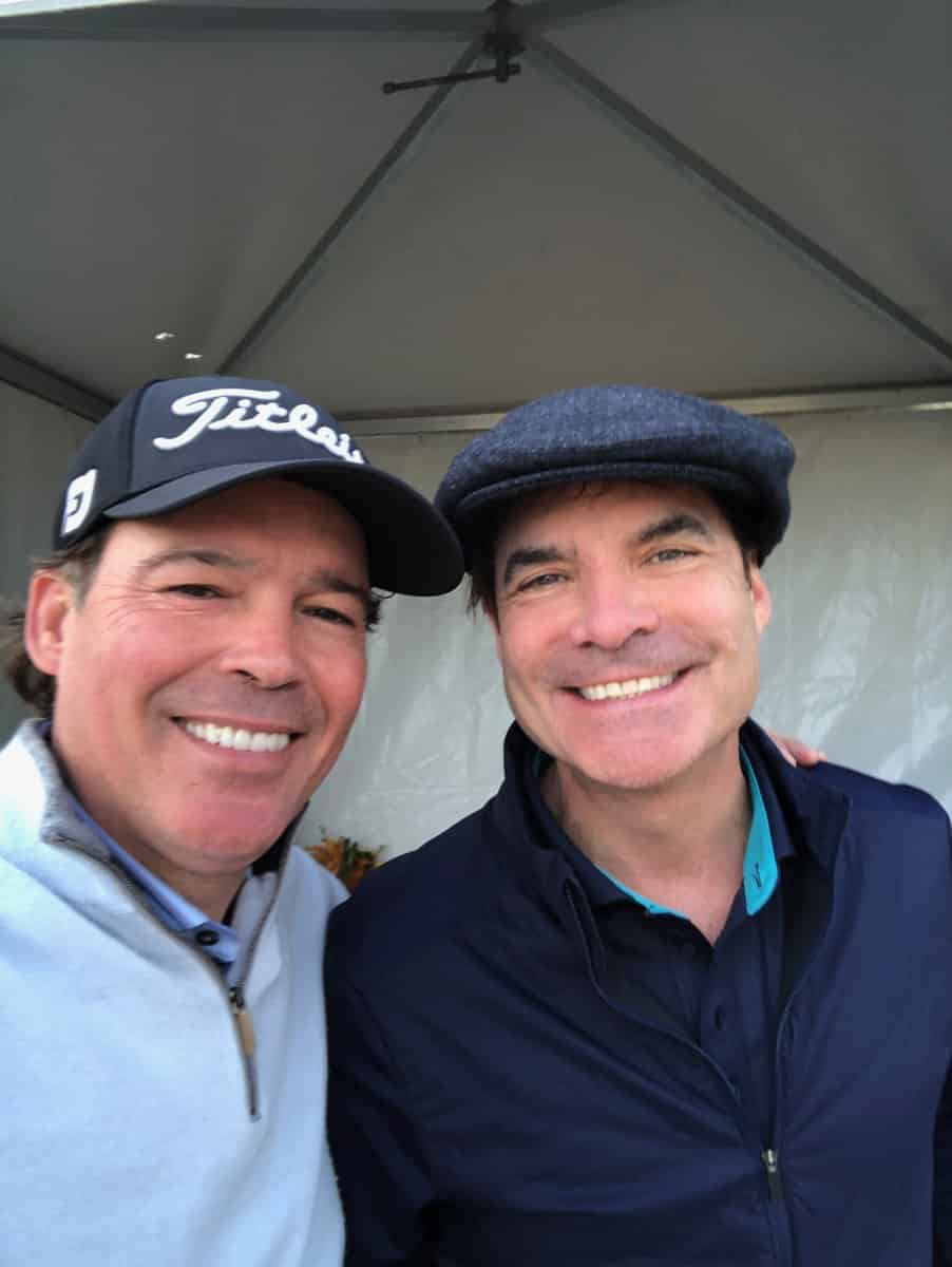 Pebble Beach AT&T Pro-Am Train Patrick Monahan Clay Walker