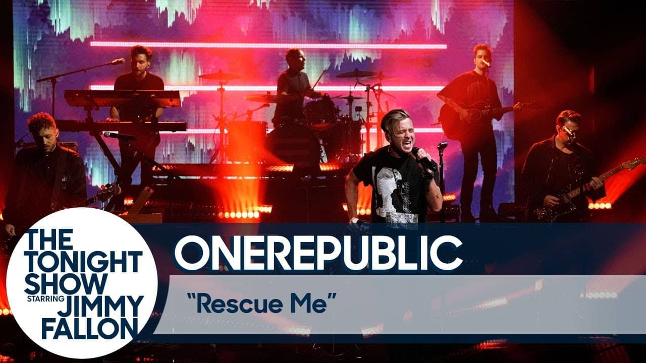 Tonight Show Jimmy Fallon OneRepublic