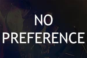 No Preference