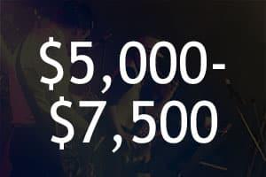 $5,000-7,500